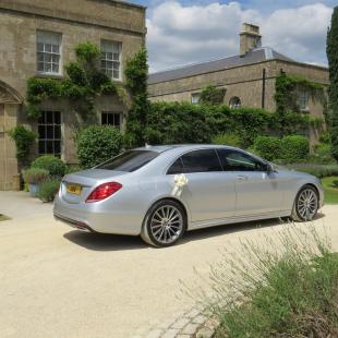 Luxury Wedding Chauffeurs - Mercedes S-Class